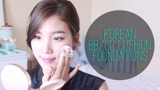 Korean BB/CC Cushion Foundation Review & Demo ♥ Laneige, HERA, Verite, IOPE, Amorepacific
