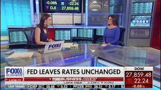 DiMartino Booth of Quill Intelligence @ Fox Business News — reaction as Fed leaves rates unchanged