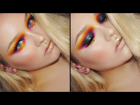 The Hunger Games Inspired Makeup Tutorial