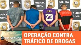 Operação prende 6 por tráfico de drogas - SBT Rio Grande - 12/02/19