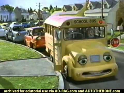 Chevron School Bus 2001 USA