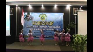 Tari Lagu Gembira Berkumpul PG PAUD Taman Belia Candi Semarang
