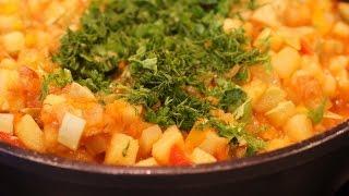 Овощное рагу из кабачков - лучшие диетические рецепты.  Вкуснейшее блюдо!
