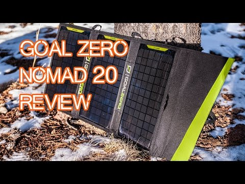 Goal Zero Nomad 20 Overview (plus Yeti 150 Solar Generator!)