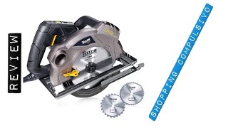 Sega Circolare, TECCPO 1500W ⚙️ con Guida Laser, 5800 RPM