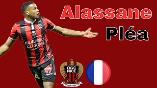 Alassane Pléa - All goals 2016/2017