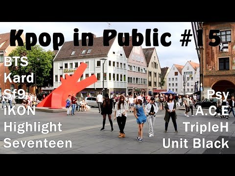Kpop in Public #15 (BTS, iKON, A.C.E, Highlight, Psy, Seventeen, TripleH Kard, sf9, unitblack)