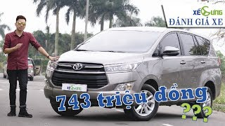 Toyota Innova 2018 có còn Ù TAI và tròng trành? Đánh giá