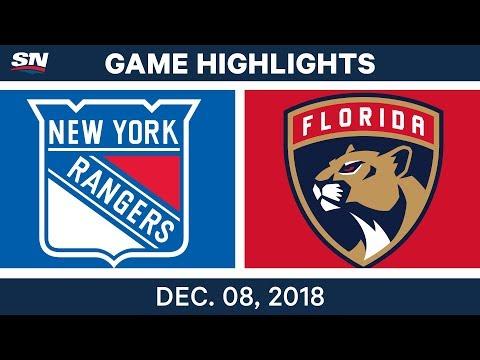 NHL Highlights | Rangers vs. Panthers - Dec 8, 2018