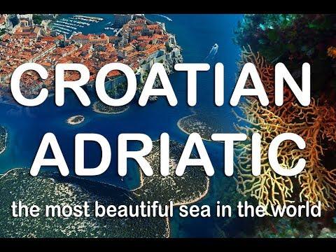 Adriatic in Croatia - the most beautiful sea coast in the word