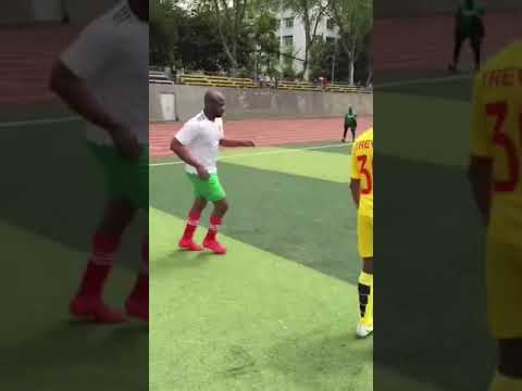 The new football skiLLS by Trevor Wuhan Hubei China afcon