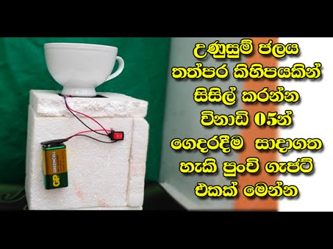 Make a Electric Hot Water Cooler