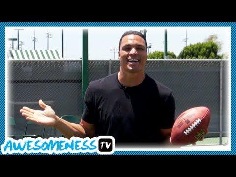 How To Catch Football With Nfl Pro Tony Gonzalez