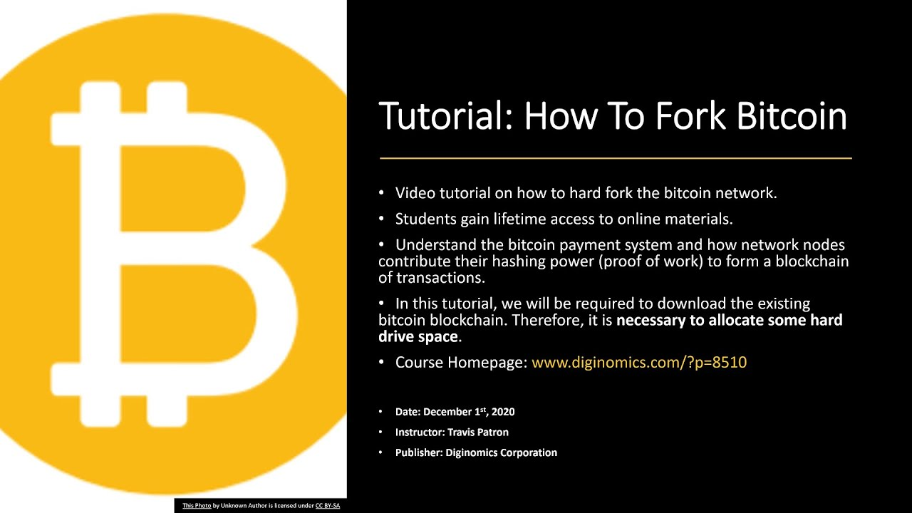 bitcoin tutorial