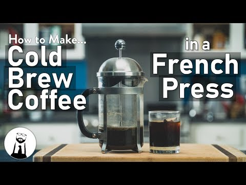 How To Make Cold Brew Coffee In A French Press | Black Tie Kitchen
