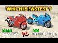GTA 5 ONLINE : HAKUCHOU DRAG vs HAKUCHOU (WHICH IS FASTEST?)
