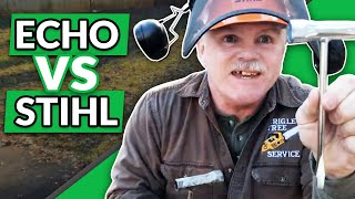 ECHO CS 620P Chainsaw Review Comparing Stihl and ECHO Chainsaws