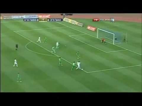 Yaniv Luzon scores for Hapoel Petah Tikva vs kfar saba 1:0