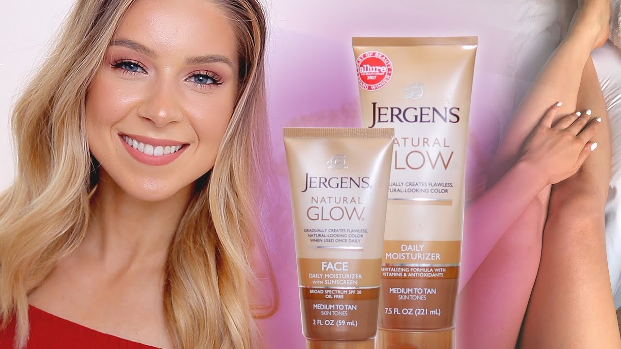 Jergens Natural Glow Face Body Review Before After Youtube