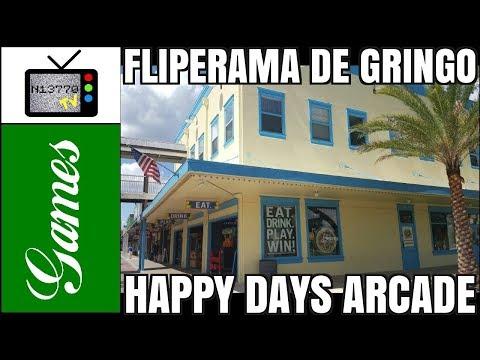 FLIPERAMA DE GRINGO: HAPPY DAYS ARCADE (OLD TOWN / KISSIMMEE) - NIETTO TV GAMES