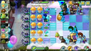Plants vs Zombies 2 - Neon Mixtape Tour Greatest Hits Level 10 to 11