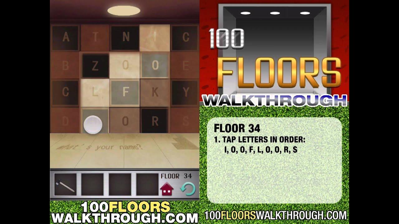 Floor 34 100 Floors Game Home Plan