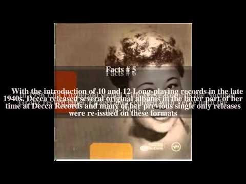 Ella Fitzgerald discography Top # 9 Facts