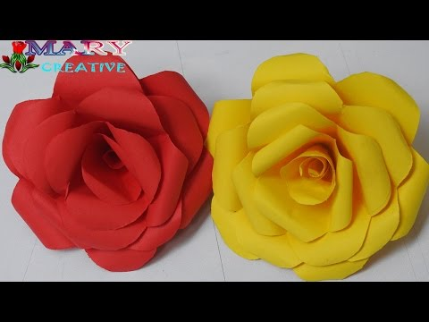 Origami Rose | Easy Origami Rose | Origami Roses Instructions | How to Make Paper Flowers HD