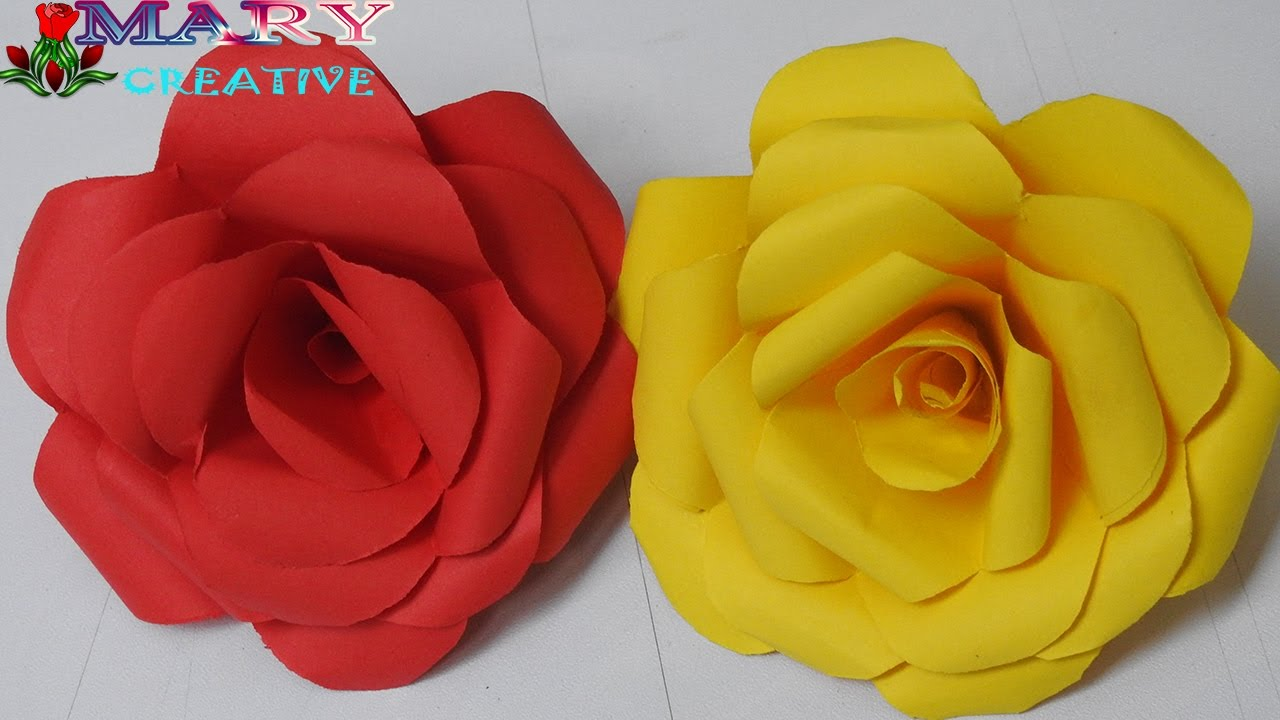 Steps Origami Flowers Rose Gardening Flower And Vegetables