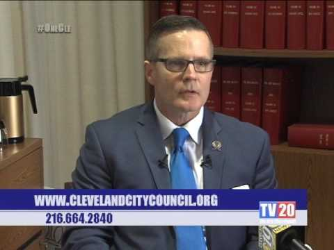 Cleveland City Council President Kevin Kelley Holds Press Session