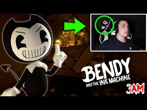 DO NOT PLAY BENDY AND THE INK MACHINE AT 3 AM!! (SCARY)