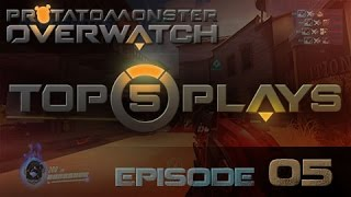 Overwatch Top 5 Plays Episode 5