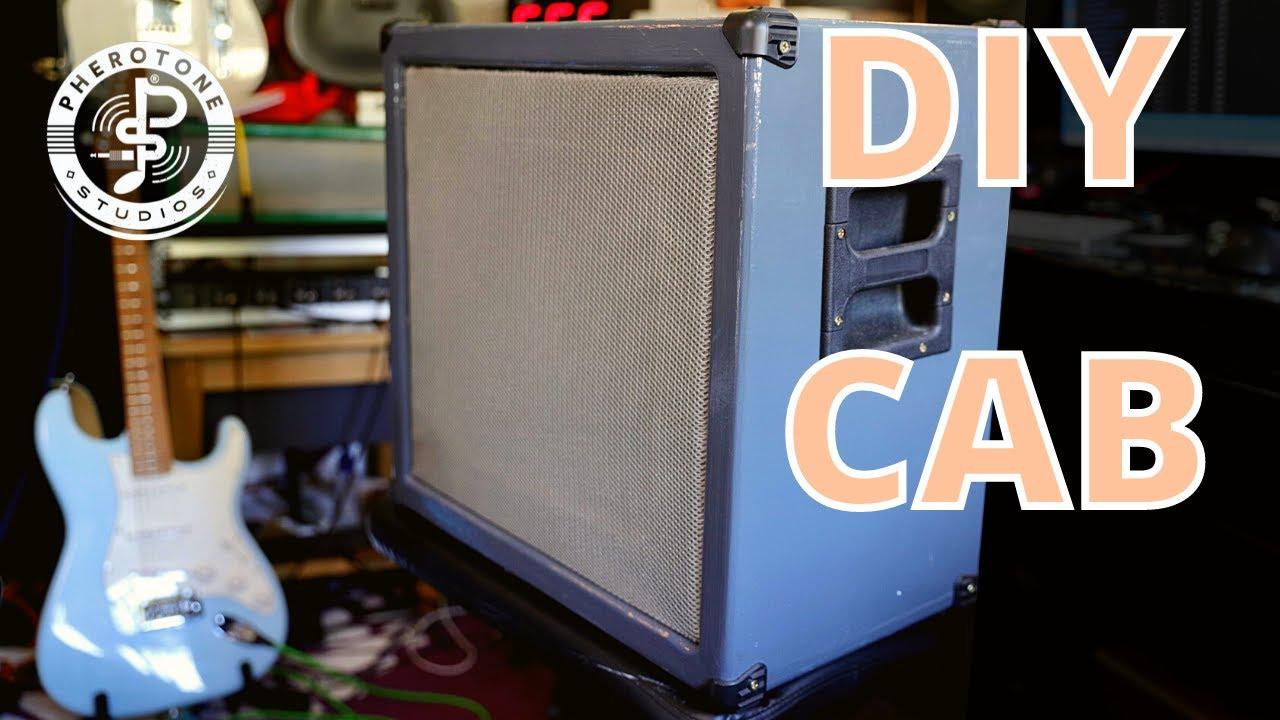 Download Guitar cabinet build - DIY Guitar Cab