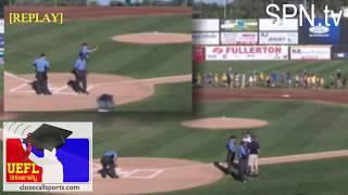 Atlantic League Batter Refuses to Steal First Base, Umpire Ejection Cycle