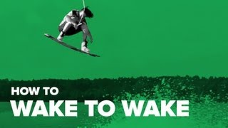Как сделать wake to wake на вейке (How to wake to wake on wakeboard)