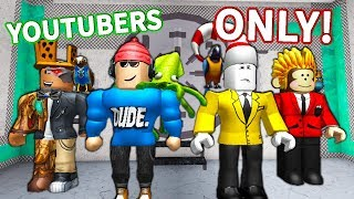 YOUTUBER ONLY MM2! *EPIC* (Roblox, Ant TwiistedPandora, and TheMonkey)