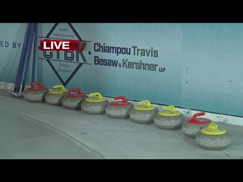 Curling at Canalside