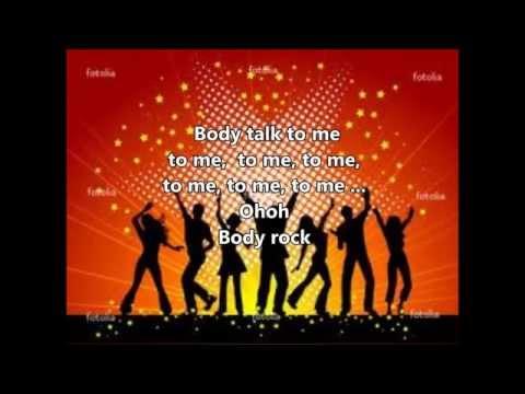 Body Rock (1985) By Maria Vidal (lyrics)