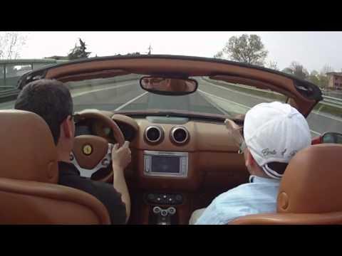 Essai personnel de la Ferrari California