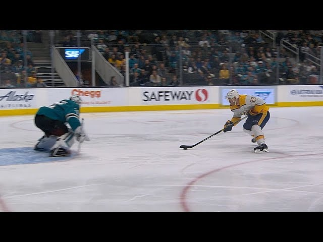 Rocco Grimaldi shows off deft touch for breakaway goal