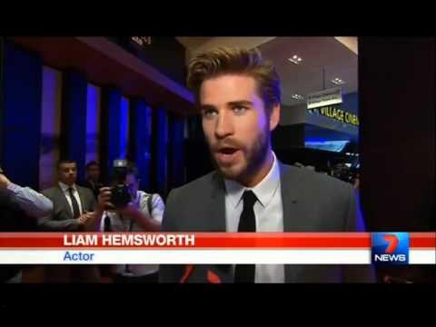 Liam Hemsworth attends Melbourne Dressmaker premiere