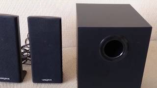 Creative A250 2.1 Multimedia Speaker System Review