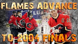 Calgary Flames advance to the 2004 Finals, Game 6 vs San Jose