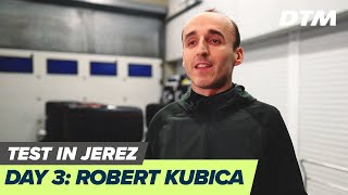 Robert Kubica - Day 3 of DTM Young Drivers Test in Jerez, Spain
