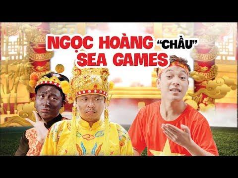 [NHẠC CHẾ] Ngọc Hoàng Chầu SEA Games | Parody Gặp Nhau Cuối Năm 2019 | Việt Johan x Thái Dương