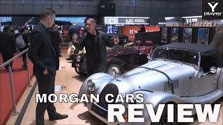 On stand with Morgan Cars: John Wells Morgan Cars