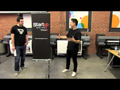 Ethan Song (Co-Founder & CEO Frank&Oak) at Startup Grind Ottawa
