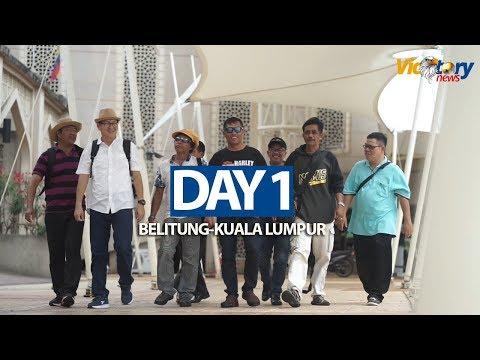 Belitung to kuala Lumpur Malaysia Day 1