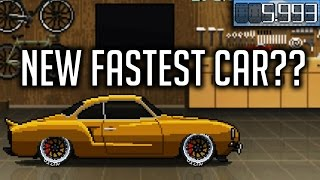 Pixel Car Racer I 5.9s Volkswagen Karmann Ghia I One Of The New Fastest Cars? I