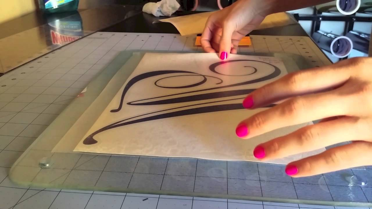 How To Make A Cutting Board Tutorial Layered Vinyl Youtube